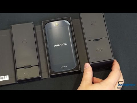 YotaPhone 2 Unboxing: Two Screens Are Better Than One | Pocketnow