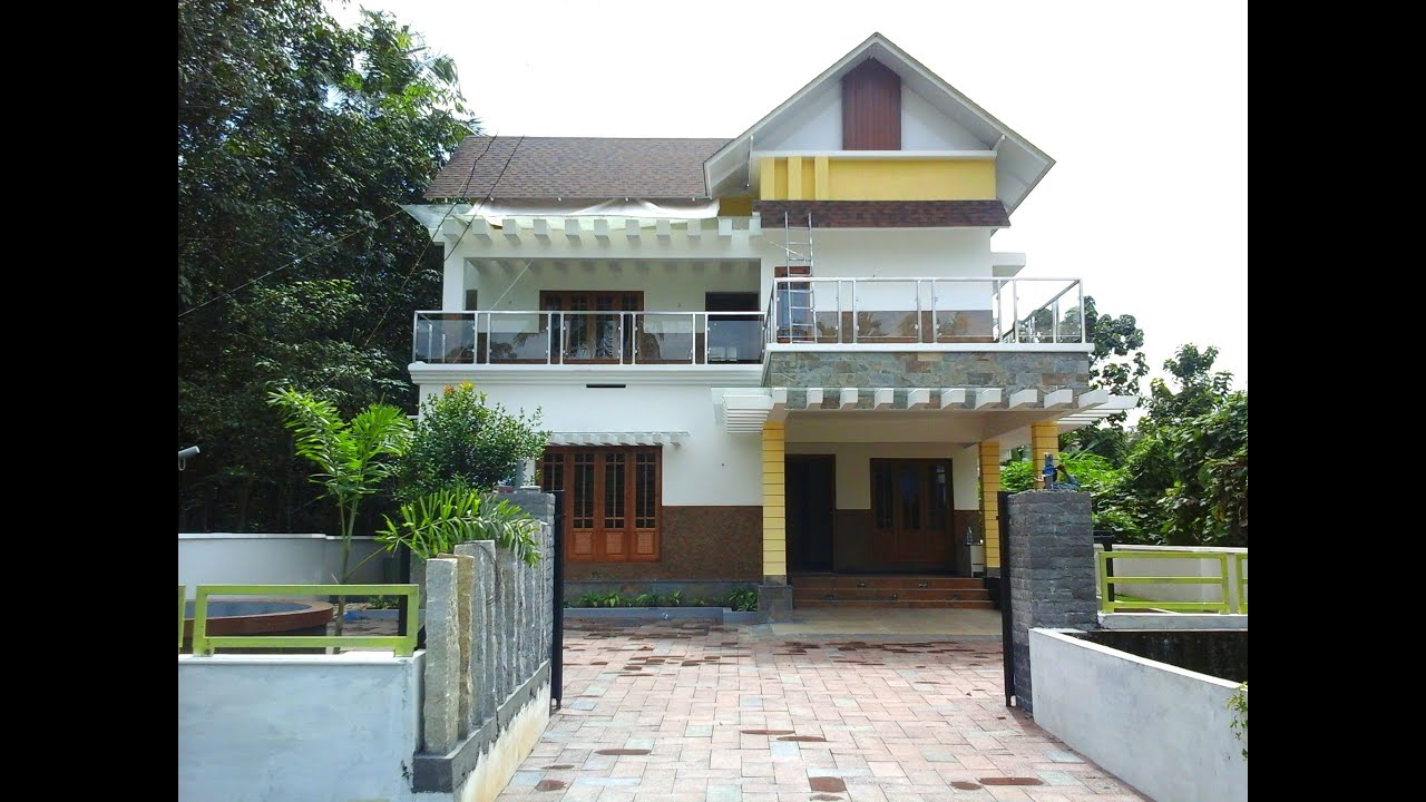 Beautiful House At Cochin, Kerala For Sale Near ICSE School   YouTube