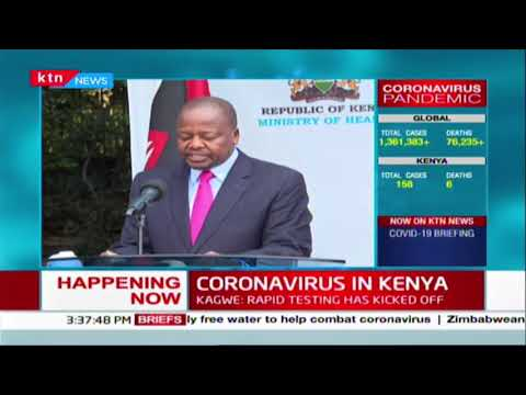 Three more Kenyans recover as 14 more test positive  | COVID-19 7th April 2020 Updates