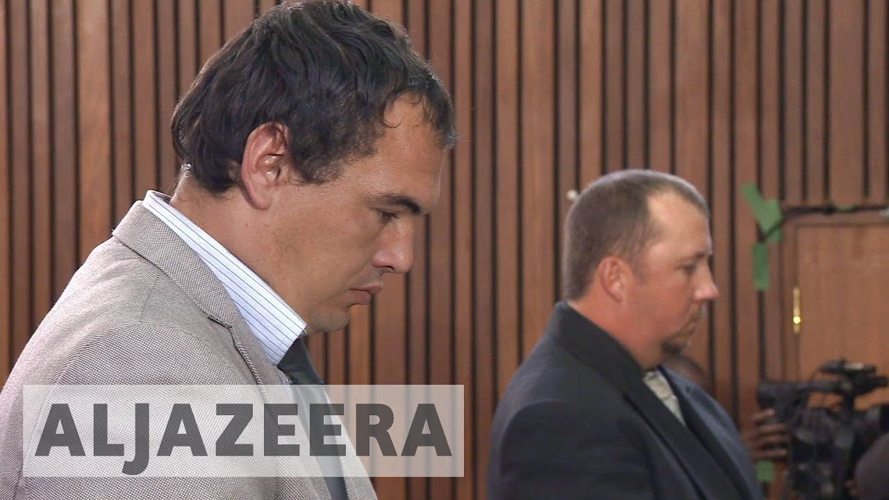 White South African farmers found guilty of attempted murder in 'coffin case'