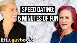 Lesbian/Bi Speed Dating: 5 Minutes of Fun!