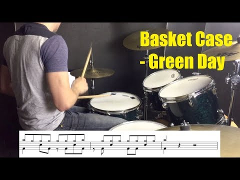 Basket Case Drum Tutorial - Green Day