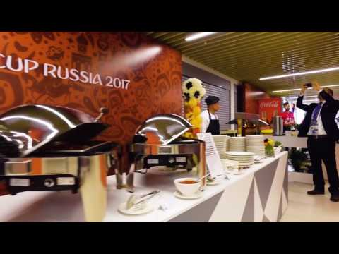 Thanks for joining us - Official Hospitality Programme at the FIFA Confederations Cup 2017