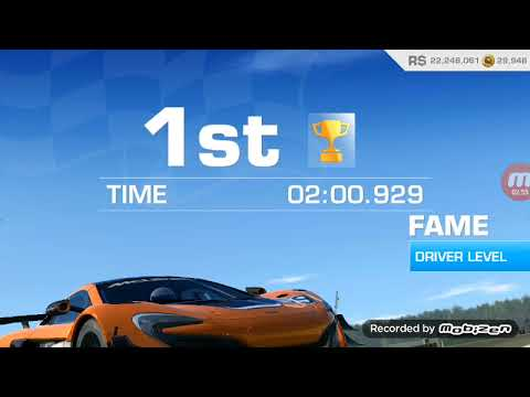 Playing Real Racing 3 With Mclaren 650S Gt3...