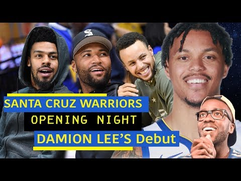 DAMION LEE ANOTHER FUTURE WARRIOR STAR?! STEPH'S BROTHER-IN-LAW IS LEGIT! SC WARRIORS OPENING NIGHT!