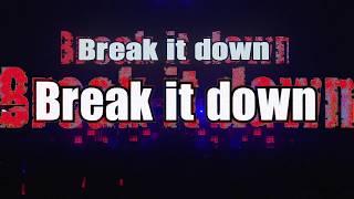 FLOW 『Break it down』Live lyric Video(Short Ver.)