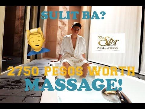 SOBRANG MAHAL NG MASSAGE | The Spa Wellness BGC Serendra