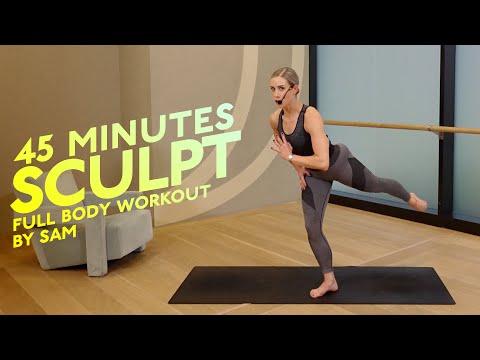 45 MIN | FULL BODY SCULPT | NO EQUIPMENT