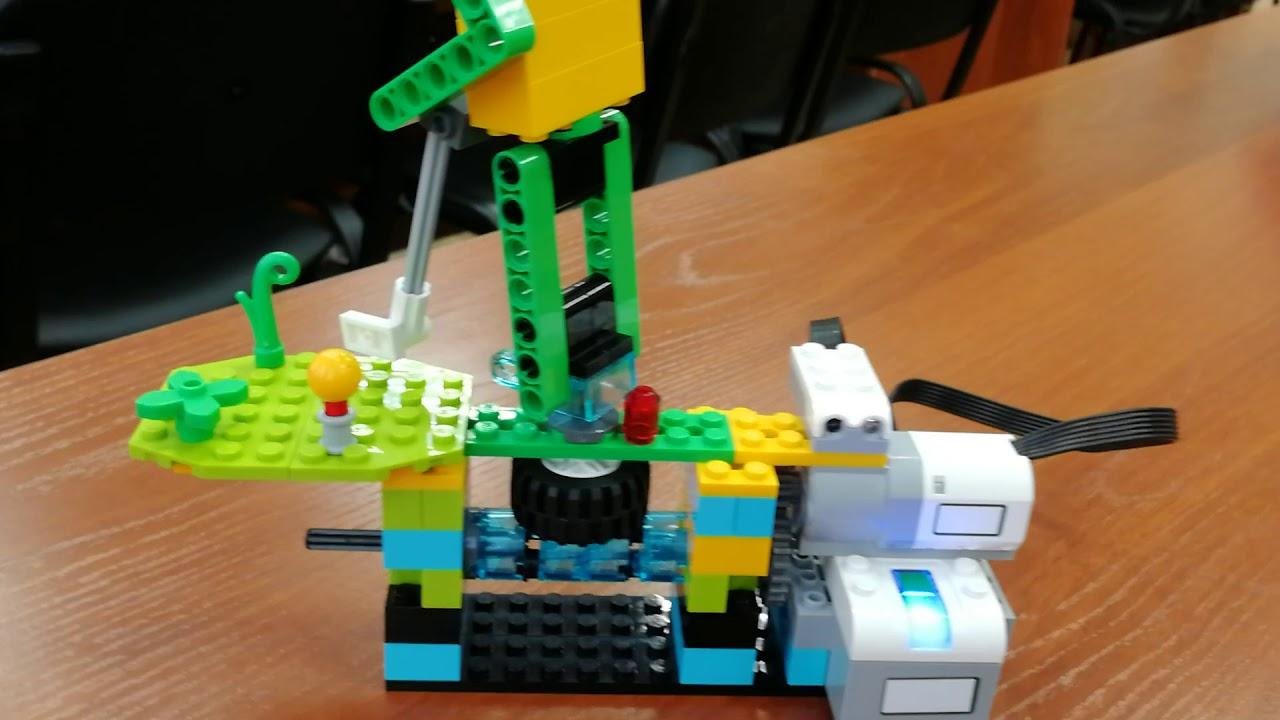 Lego WeDo 2.0 Гольфист - YouTube