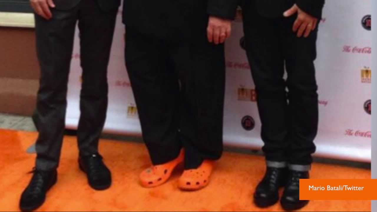0825e6a7bd94a Mario Batali Orders 200 Pairs of Orange Crocs Before They Were Discontinued