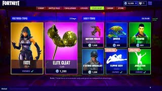 FORTNITE *NEW* SKINS ITEM SHOP UPDATE! *LIVE* (June 23) *FATE SKIN*😱