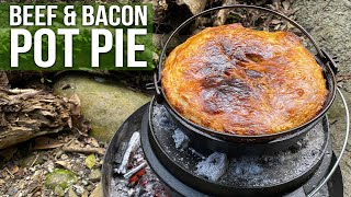 Beef 'n Bacon Pot Pie by the BBQ Pit Boys