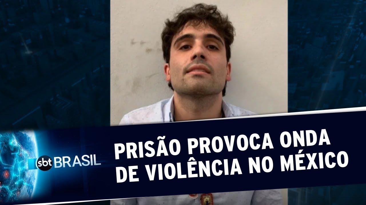 Prisão do filho de 'El Chapo' provoca onda de violência no México | SBT  Brasil (18/10/19) - YouTube