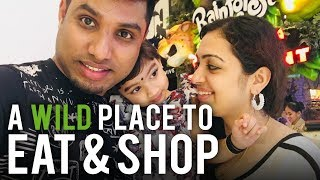 Rainforest Cafe Restaurant Dubai Mall | Life and Travel | Malayalam Vlog #14