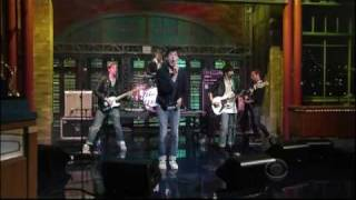 The Virgins - Rich Girl ( Live On David Letterman)