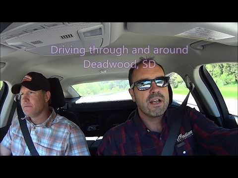 🎰 Driving through and around Deadwood South Dakota 🎰
