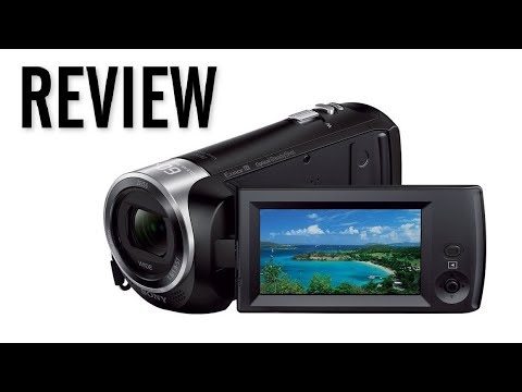 Sony Handycam HDR-CX405 HD Video Camera Review