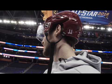 OEL Skates with the Smiths at All-Star Game