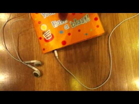 Hack the Musical Greeting Card! (Headphone Edition)