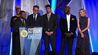 The cast of MUDBOUND accepts a Special Jury Prize 2017 IFP Gotham Award (Ensemble Performance)