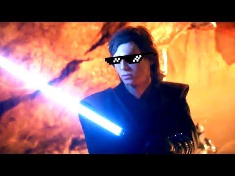 Star Wars Battlefront 2 Funny & Random Moments [FUNTAGE] #95 - Anakin Skywalker Special! thumbnail