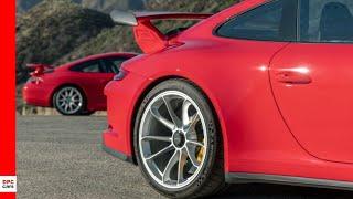 Porsche 911 GT3 996 and 991 2