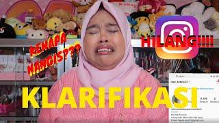 Kekeyi Klarifikasi | Akun Instagram Hilang!!!