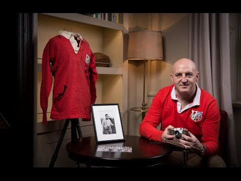 Keith Wood shares his British & Irish Lions memories at Canterbury launch