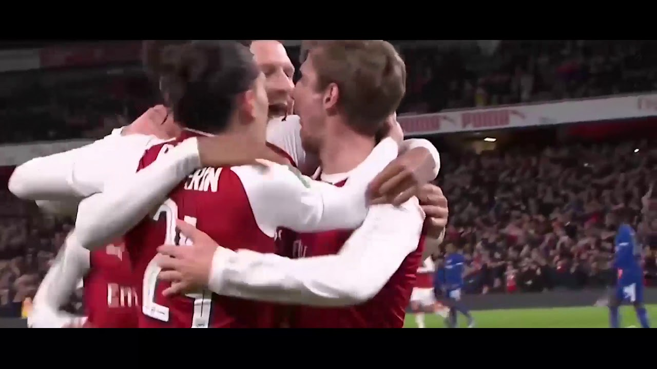 Download Arsenal vs Chelsea 2-1 All Goals 24-01-2018 - HD