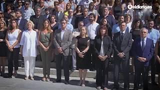 El Congreso guarda un minuto de silencio por los atentados de Barcelona
