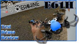 Eachine E61H - Review Test Démo - Parfait pour l'initiation !