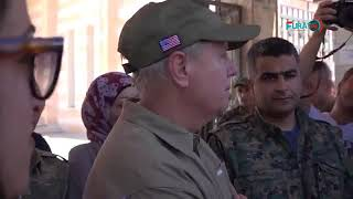 US Senator Lindsay Graham, Abu Adel: Trump'a, I'll tell you it's important that we help you here.