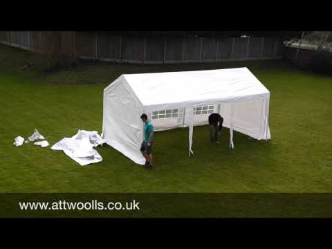 Party Tent (Standard) Pitching & Packing Video