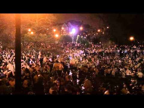 Ohio State University - Mirror Lake Jump 11/22/11 - HD