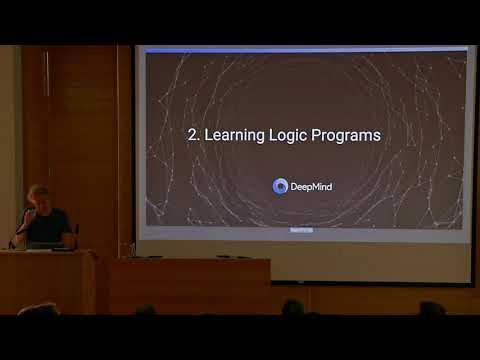 Richard Evans: Inductive logic programming and deep learning I