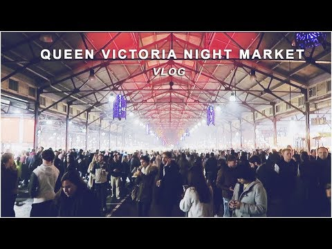 Queen Victoria Markets, Winter Night Markets 2017