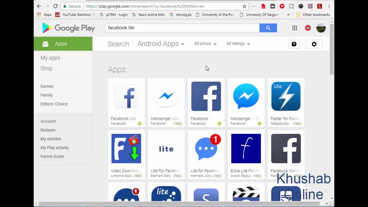 Face Book New Update, Facebook Lite, Lite Messenger 2017 Urdu, Hindi  Tutorial