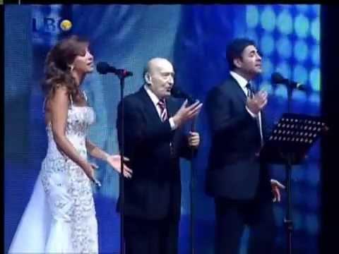 Najwa Karam & Wael Kfoury & Wadi El Safi   Byblos نجوى كرم & وائل & وديع الصافي   YouTubevia torchbr