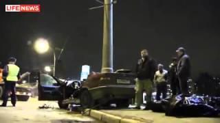 страшная авария видеорегистратор труппы и горы железа