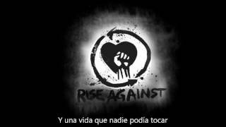 Rise Against - Prayer Of The Refugee ( Subtitulado En Español )