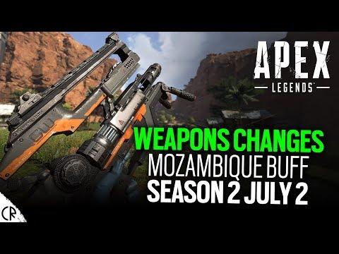 Weapon Changes Mozambique Buff – Apex Legends