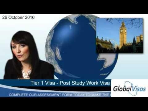 Tier 1 Visa - Post Study Work Visa