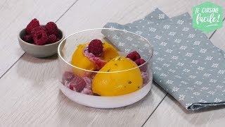 Recette facile : sorbet mangue, coriandre, framboise