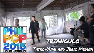 Repeat youtube video Thyro, Yumi and Jeric -  - Triangulo [Official Behind-The-Scenes]