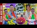 SIMPLE DIMPLE    Tanka AR Budathoki   Ashok Darji   Kabita Siwakoti   MALAI MAYA GARNE KETO / KETI