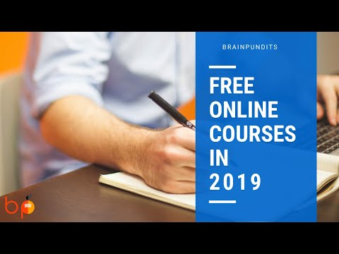 Top 8 Free Online Courses You Can Do In 2019