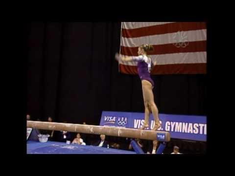 Courtney Kupets - Balance Beam - 2004 U.S. Gymnastics Championships - Women - Day 1
