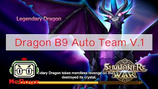 summoners war มามะมาลงด นม งกร b9 ก น v 1 dragon b9 auto farmable team