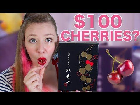 What do $100 Cherries Taste Like?