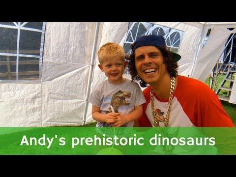 Andy's prehistoric dinosaurs